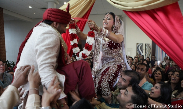 Indian wedding bride groom traditional ceremony in Huntington, New York Indian Wedding by House of Talent Studio