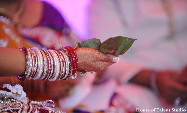 Indian wedding ceremony bangles maharani in Huntington, New York Indian Wedding by House of Talent Studio
