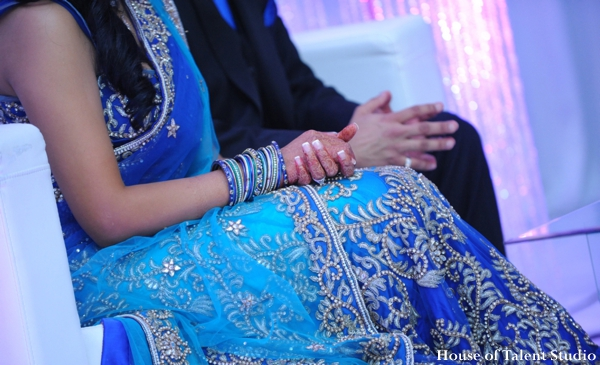 Indian wedding lengha bangles in Huntington, New York Indian Wedding by House of Talent Studio
