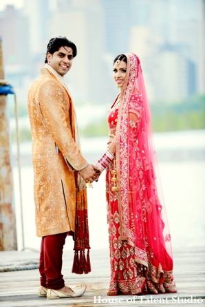 Indian-wedding-bride-couple-portrait