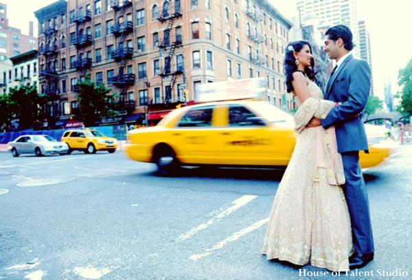 Indian-wedding-bride-groom-city-portrait