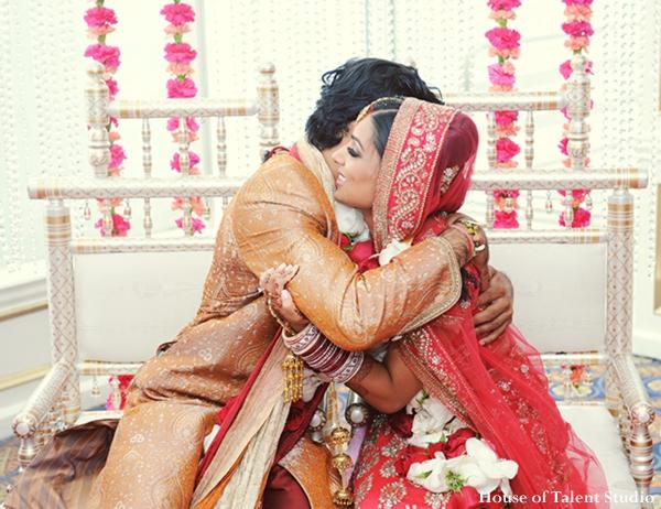 Indian-wedding-bride-groom-embrace-ceremony