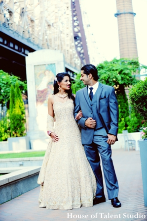 Indian-wedding-bride-groom-portrait-outside