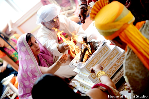 Indian-wedding-fire-ritual-bride-groom-traditional