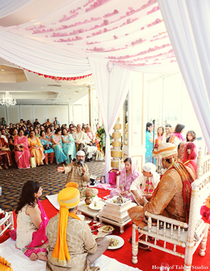 Indian-wedding-hindu-ceremony-bride-groom
