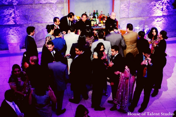 Indian-wedding-purple-reception-lighting