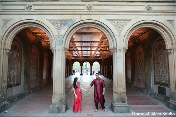 Indian wedding photography venue engagement in Sunday Sweetheart Winners ~ Pooja & Devang by House of Talent Studios