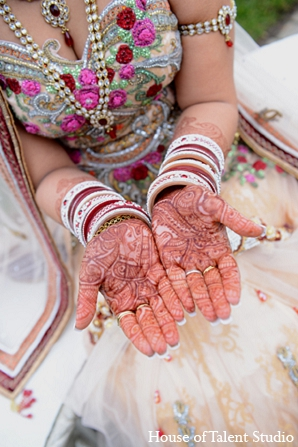 Indian wedding bridal mehndi photography in Aberdeen, New Jersey Indian Wedding by House of Talent Studio