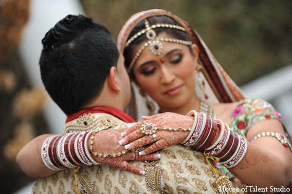 Featured Indian Weddings,bridal jewelry,Hair & Makeup,portraits,House of Talent Studio,indian bride and groom,indian bride groom,photos of brides and grooms,images of brides and grooms,indian bride grooms