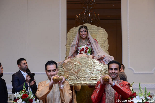 Indian wedding doli bride ceremony in Aberdeen, New Jersey Indian Wedding by House of Talent Studio