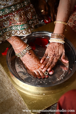 Indian wedding bridal mehndi ceremony traditions in Houston, Texas Indian Wedding by Image N Motion Studio