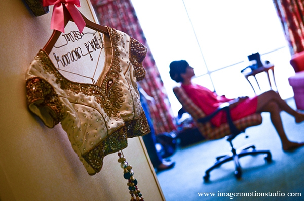Indian wedding getting ready photography ideas bride details in Houston, Texas Indian Wedding by Image N Motion Studio