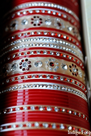 Indian bridal bangles in Orient Point, New York Indian Fusion Wedding by Indigo Foto