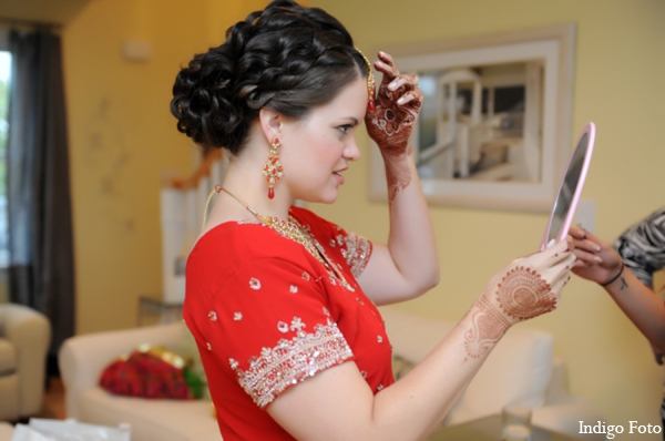 indian bride hair accessories