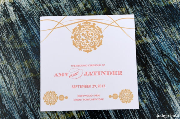 Indian wedding cards in Orient Point, New York Indian Fusion Wedding by Indigo Foto