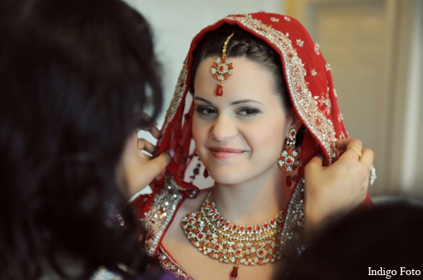 Indian wedding jewelry in Orient Point, New York Indian Fusion Wedding by Indigo Foto
