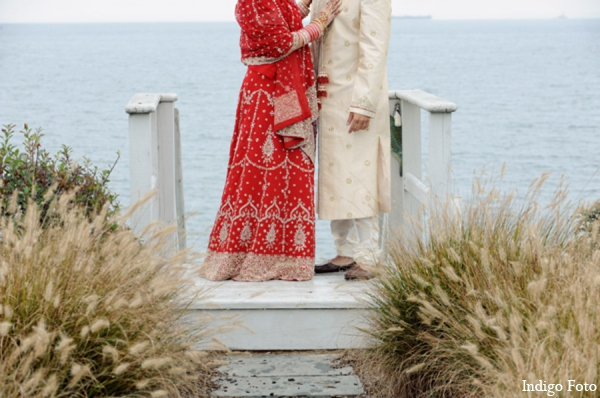 Indian wedding outdoor photos in Orient Point, New York Indian Fusion Wedding by Indigo Foto