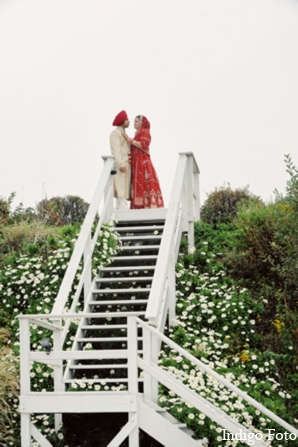 Indian wedding photo ideas in Orient Point, New York Indian Fusion Wedding by Indigo Foto