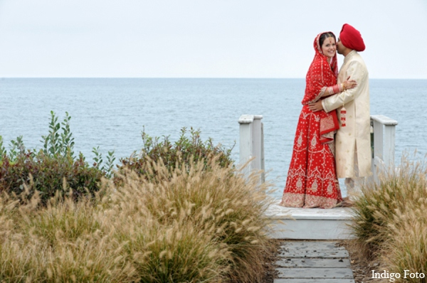 Indian wedding photos in Orient Point, New York Indian Fusion Wedding by Indigo Foto