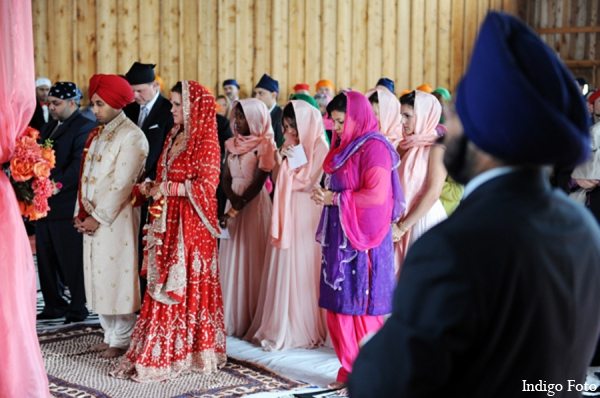 Indian wedding sikh ceremony in Orient Point, New York Indian Fusion Wedding by Indigo Foto
