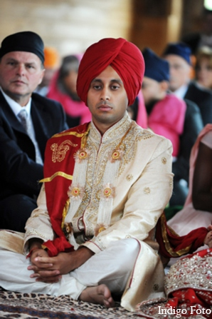Indian wedding sikh groom in Orient Point, New York Indian Fusion Wedding by Indigo Foto