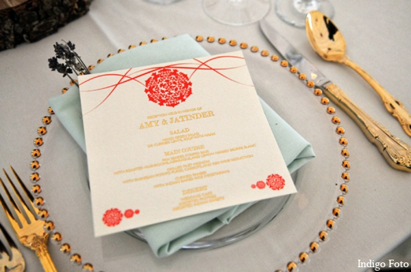 Indian wedding stationary in Orient Point, New York Indian Fusion Wedding by Indigo Foto