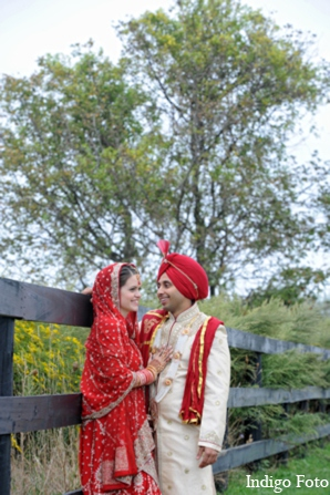 Outdoor indian wedding photos in Orient Point, New York Indian Fusion Wedding by Indigo Foto