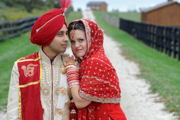 Sikh bride groom photo in Orient Point, New York Indian Fusion Wedding by Indigo Foto