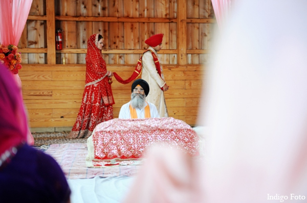 Sikh wedding ceremony traditions in Orient Point, New York Indian Fusion Wedding by Indigo Foto