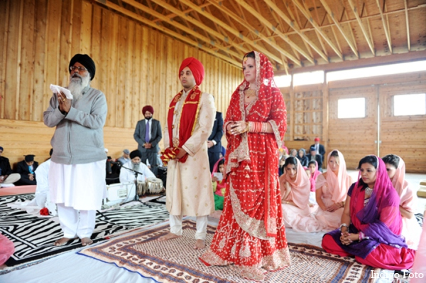 Sikh wedding ceremony in Orient Point, New York Indian Fusion Wedding by Indigo Foto