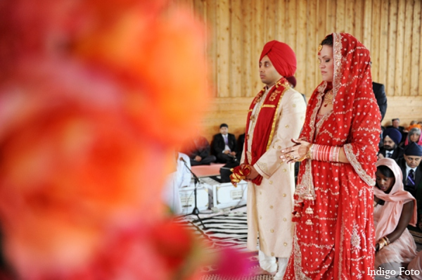 Sikh wedding traditional in Orient Point, New York Indian Fusion Wedding by Indigo Foto