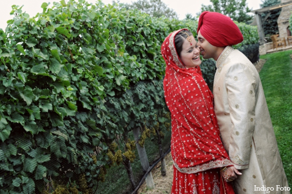 Traditional sikh bride groom in Orient Point, New York Indian Fusion Wedding by Indigo Foto