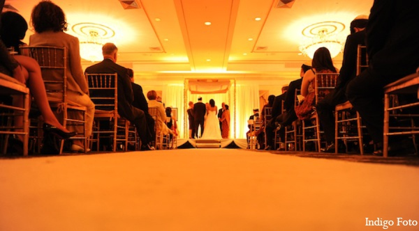 Indian fusion wedding ceremony in Pearl River, NY Indian Fusion Wedding by Indigo Foto