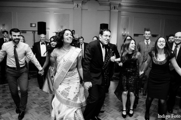 Indian fusion wedding reception in Pearl River, NY Indian Fusion Wedding by Indigo Foto