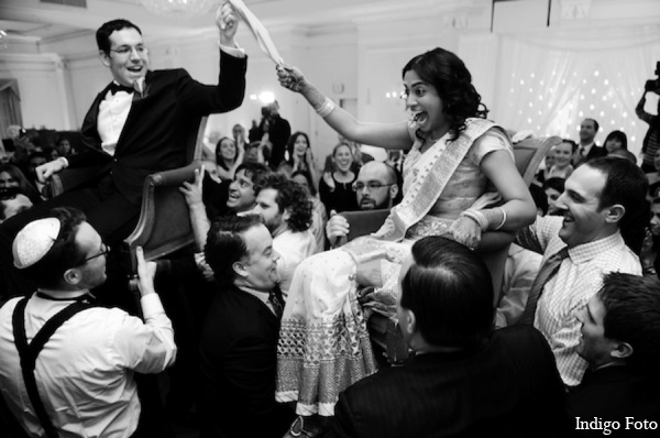 Indian jewish wedding reception in Pearl River, NY Indian Fusion Wedding by Indigo Foto
