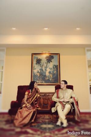 Indian wedding bride groom photos in Pearl River, NY Indian Fusion Wedding by Indigo Foto