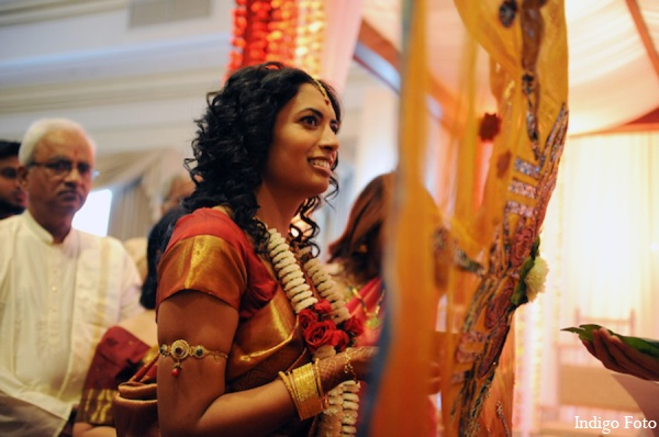 Indian wedding ceremony bride in Pearl River, NY Indian Fusion Wedding by Indigo Foto
