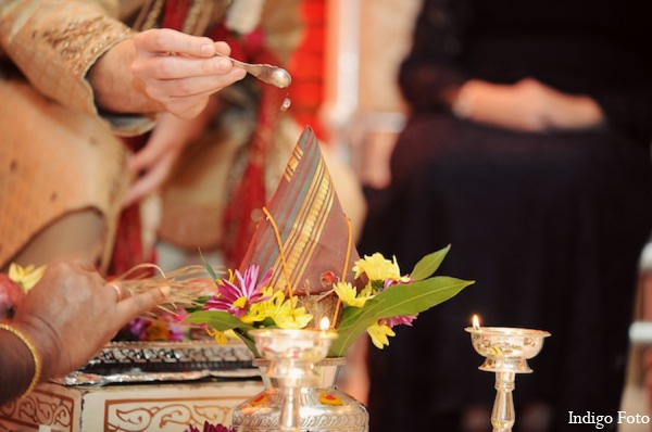 Indian wedding ceremony ritual in Pearl River, NY Indian Fusion Wedding by Indigo Foto