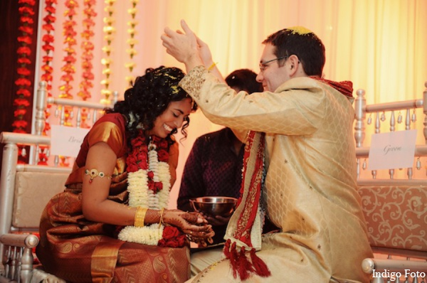 Indian wedding ceremony rituals in Pearl River, NY Indian Fusion Wedding by Indigo Foto