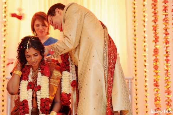 Indian wedding ceremony traditions in Pearl River, NY Indian Fusion Wedding by Indigo Foto