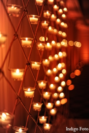 Indian wedding lighting reception in Pearl River, NY Indian Fusion Wedding by Indigo Foto