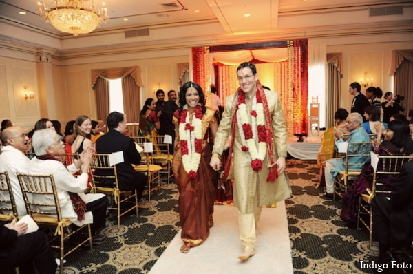 Indian wedding mandap in Pearl River, NY Indian Fusion Wedding by Indigo Foto