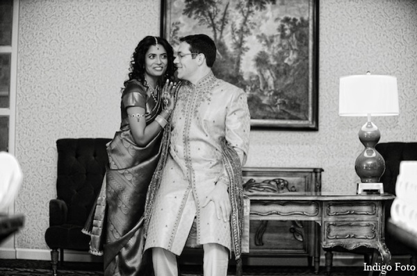 Indian wedding outfit in Pearl River, NY Indian Fusion Wedding by Indigo Foto
