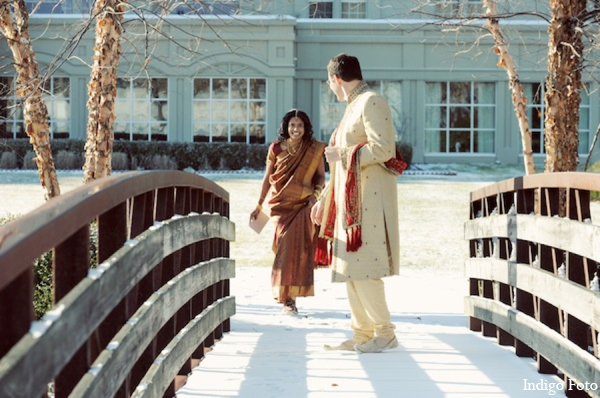 Indian wedding picture in Pearl River, NY Indian Fusion Wedding by Indigo Foto