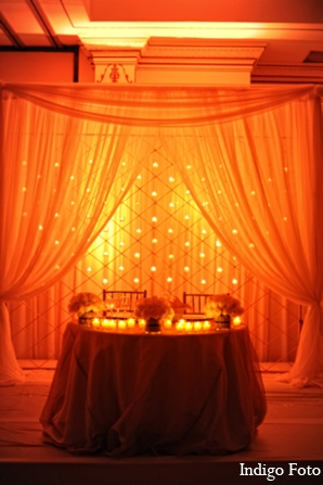indian wedding reception decor