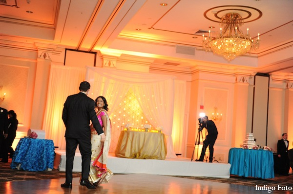 Indian wedding reception photos in Pearl River, NY Indian Fusion Wedding by Indigo Foto