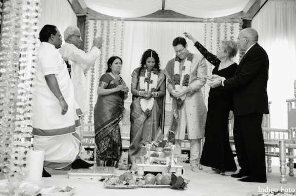 Jewish indian fusion wedding in Pearl River, NY Indian Fusion Wedding by Indigo Foto