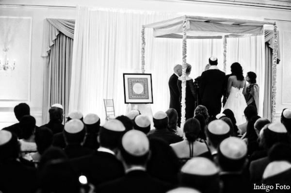 Jewish indian wedding in Pearl River, NY Indian Fusion Wedding by Indigo Foto