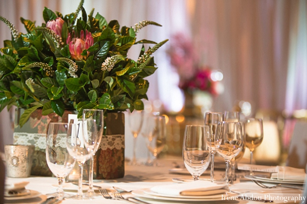 indian wedding decor floral photography table
