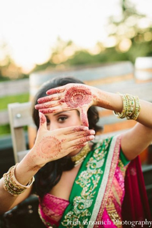 Indian wedding mehndi bangles traditional